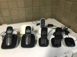 Vários Telefones sem fio (sem bateria) da Gigaset A390 A39H A495 A49H