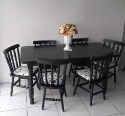 Mesa de jantar * Madeira maciça