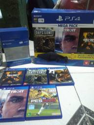 Vende-se um PS4 slim 1 TB