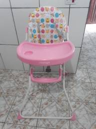 Cadeira de Alimentação Bebê Voyage Rosa
