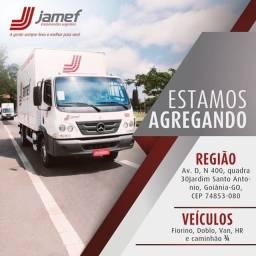Estamos agregando veículos para entregas/coletas. Goiânia/GO e região