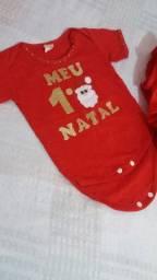 Roupa Natalina para Bebê
