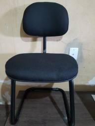 """Cadeira Escritório - Palito (Base """"U"""")"""