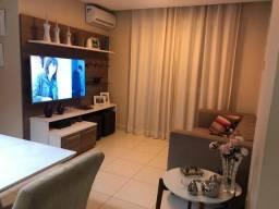Apartamento em Nova Parnamirim (3/4 sendo 01 suíte, semi - mobiliado