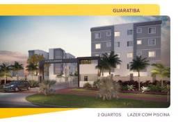 Apartamentos Sala 02 Quartos com Lazer - Estrada Cabuçu de Baixo -Guaratiba - R$ 144.000