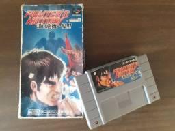 Cartucho Fighters History Super Nintendo