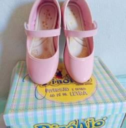 Sapatinho Infantil rosa