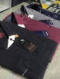 Camisa Social Masculina Slim as top luxo