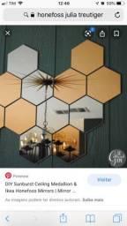 Espelhos design Júlia Treutiger