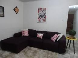 Belo sofá cor violeta + chaise super conforto.2.60 cmpt