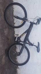 Bicicleta Caloi T-type Alumínio 21 V Preto Fosco Aro 26