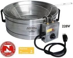 Maquina De Fritura Alumínio Ademaq 220v - Nunca usada