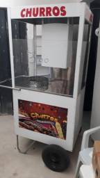 Máquina de churros semi nova