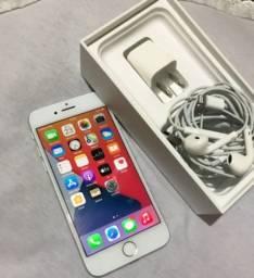Iphone 7 Silver bem novo todo original