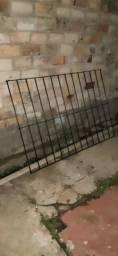 Grade de janela em vergalhão e barra