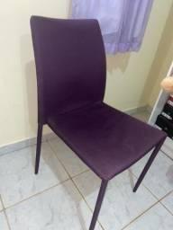 Cadeira no tecido
