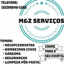 M&Z serviços trabalhamos com todos os eventos