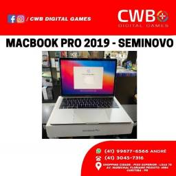 Macbook Pro 13' 128gb 2019 - com touchbar. Seminovo. Loja fisica