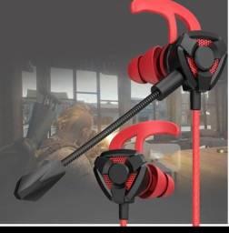 Fone Gamer com Microfone para Streamer