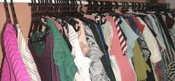 Lote de roupas semi novas