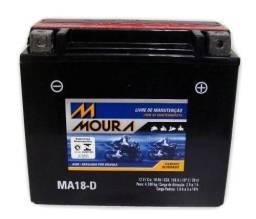 Bateria 18ah seminova