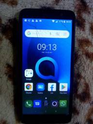 Vendo celular Alcatel trincado