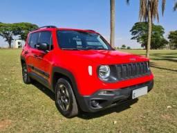 Título do anúncio: Jeep Renegade Sport 1.8 Flex Vermelho 2019 10.000 Km!