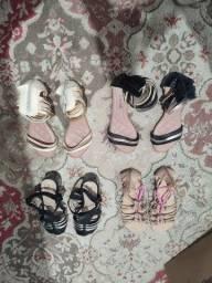 Título do anúncio: Sapatos / Sandalias Feminina