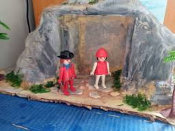 Playmobil vintage casal faroeste