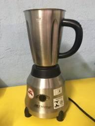 Liquidificador Skymsen Copo de Inox Alta Rotação 1,5 litros 220v