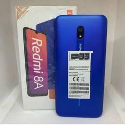 Celular Xiaomi Redmi 8A 64GB Novo Lacrado original.  Disponível em nossa loja fisica ?
