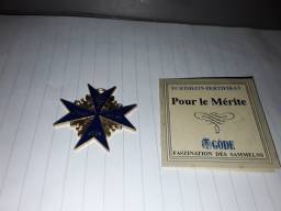 Condecoração Pour le Merite da Prussia Alemanha 1740 até 1918