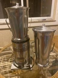 Título do anúncio: Liquidificador industrial Metvisa com copo de 8 litros