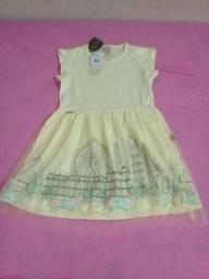 Vestido infantil tamanho 6