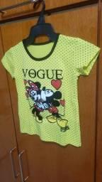 Camiseta infantil GG ou tamanho 8 nova