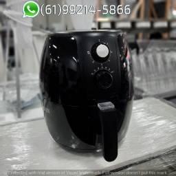Fritadeira Air Fryer Supremma cor Preto Elétrica 3,6 Litros Agratto