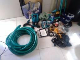 Título do anúncio: Kit completo de Equipamentos para Limpeza de Caixa D'água