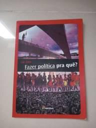 Vendo Livro paradidático: Fazer política para quê?