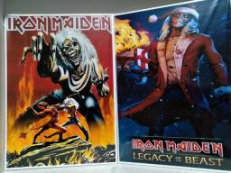 Iron Maiden quadro MDF
