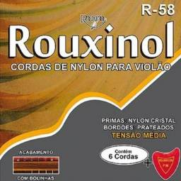 Cordas violão Nylon Rouxinol