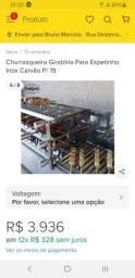 Título do anúncio: Churrasqueira espetinho carvao elétrica giratoria
