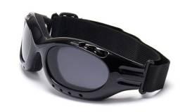Óculos Esportivo para Ciclismo Lente Transparente UV400 com Cinta de Fixação