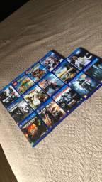 Vendo 12 jogos de ps4