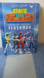 DVD Comando Estelar Flashman Box Vol. 02- 5 DVDs
