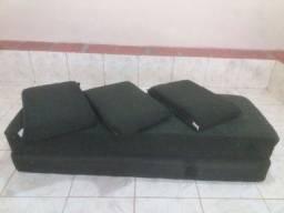 Sofá bi cama solteiro