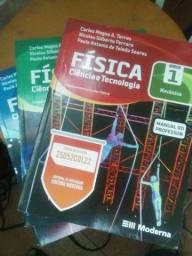 Livro de física 1,2,3 kit