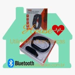 Pulseira de Corrida com Monitor Cardíaco