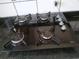 Cooktop Philco a gás 4 bocas