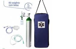 Kit para terapia com oxigênio (com cilindro)