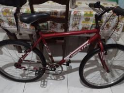 Vendo bicicleta bem conservada com nota fiscal r$ 480